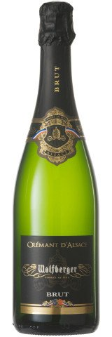 Cremant d'Alsace Wolfberger Chardonnay Med d'or - 750ml