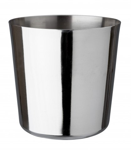 Appetizer cup stainless 9x9cm